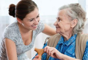 caring for elderly